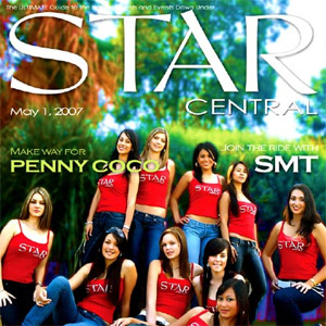 Issue #6 featuring The StarCentral Covergirls