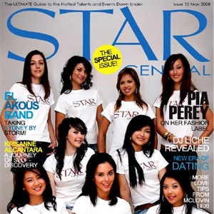 Issue #10 featuring The StarCentral Covergirls '08