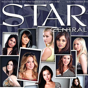 Issue #19 featuring The StarCentral Covergirls 2010