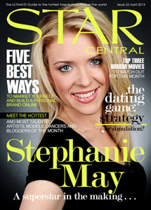 Issue #24 featuring Stephanie May &#038; April&#8217;s StarCentral A-List
