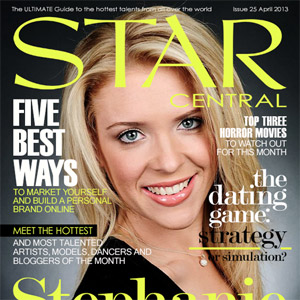 Issue #24 featuring Stephanie May & April's StarCentral A-List