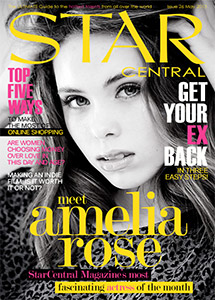 Issue #25 featuring Amelia Rose & May's StarCentral A-List