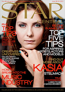 Issue #28 featuring Kasia Stelmach & October's StarCentral A-List
