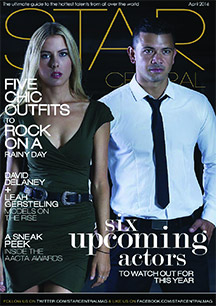 April 2016 Issue Featuring Leah Gersteling and David Delaney