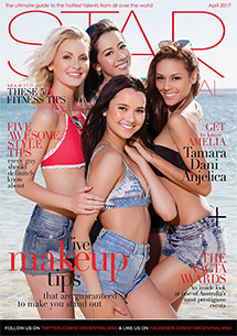 April 2017 Issue Featuring Amelia, Dani, Anjelica & Tamara