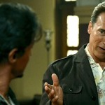 He's back!  Arnold Schwarzenegger plots return to big screen.