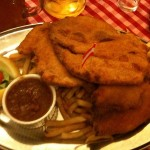 Challenge yourself at the Austrian Schnitzelhaus!