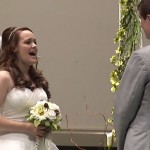 Watch This Amazing Bride Sing Magnificently As She Walks Down The Aisle… Incredible!