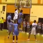 Watch This Incredible 5'5″ Guard Throw Down A Thunderous Dunk On Two Other Players… OMG