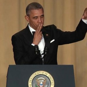 Badass Obama Dropped His Mic To Finish Off His Final White House Correspondents Dinner