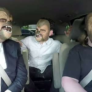 Chewbacca Mom Drove TV Host James Corden To Work… The Result Was Side-Splittingly Hilarious!