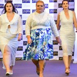 Plus-size Models Hit The Catwalk At The Recent Grace On Lepou Fashion Show