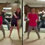 Watch This Dad Secretly Videobomb His Daughters' Video And Actually Outdanced Them (Yes, You Read Right)