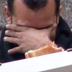 This Guy  Asked A Homeless Man For A Slice Of Pizza. And I Still Can't Believe What Happened After That…