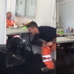This Construction Worker's T-Rex And Velociraptor Impressions Are Absolutely Legendary