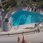 This Man Jumping From A Hotel Roof Into A Pool Is Guaranteed To Give You A Mini-Heart Attack