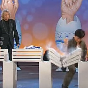 Watch Jackie Chan Destroy 12 Cement Blocks While Holding An Egg Inside His Hands