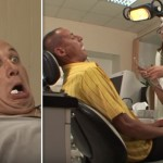 Watch These Men Get Shocked To Their Very Core When This Sexy Dentist Jumps On Top Of Them