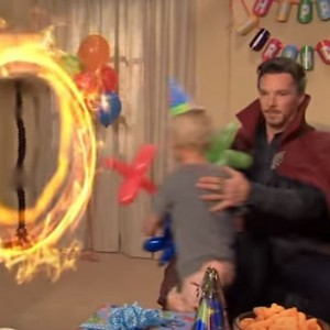 Dr. Strange Got Invited To Entertain Kids At A Birthday Party… The Result Was Hilarious
