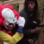 This Killer Clown Tried To Pull A Prank In The Hood. Seconds Later He Ended Up Getting Pistol Whipped!
