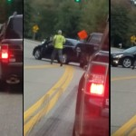 This Man's Reaction To A Road Rage In Front Of Him Was Seriously Ridiculous … What The??