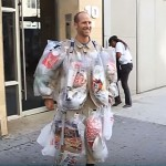 This Man Decided To Wear All The Trash He Created In 30 Days To Raise Environmental Awareness