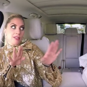 Lady Gaga Just Hopped Into James Corden's Car For A Carpool Karaoke. The Result Was EPIC