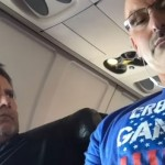 Watch This Badass In The Middle Seat On A Plane Reclaim His Armrest In The Most EPIC Way Imaginable