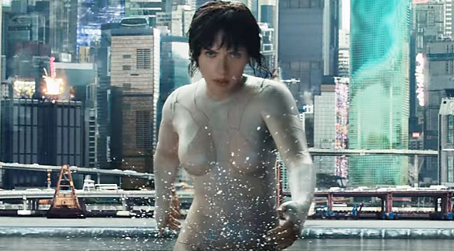 Ghost in a shell sexy