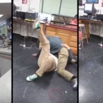 Watch This Teacher Use A UFC Chokehold To Break Up A Vicious Fight Between Two Students
