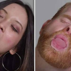 These 100 People Decided To Demonstrate How They Actually Kiss. The Result Was Absolutely Cringeworthy