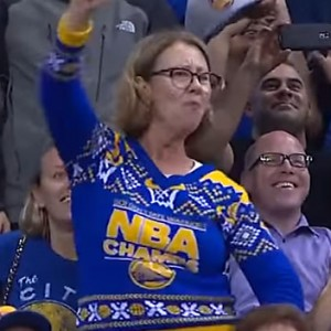 This Woman Went All Out During An NBA Game. Seconds Later I'm In Fits Of Laughter