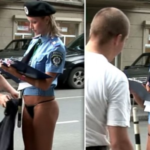 This Sexy Lady Cop Lost Her Skirt During An Arrest. You Won't Believe What Happened Next