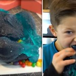 This Man Created An Epic Homemade Gummy Chicken. Seconds Later… OMG