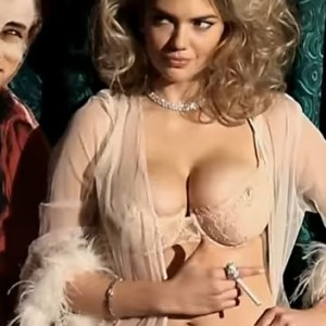 Kate Upton Decided To Play Hide And Seek In Sexy Lingerie For A Love Advent Video. Seconds Later… OMG