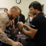 "The Mountain From ""Game of Thrones"" Took On An Arm Wrestling Champion. The Result Was Shocking"