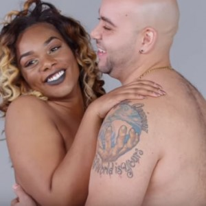 These Strangers Decided To Hold Each Other Skin To Skin. The Cringe Was Unfathomable