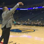 NBA Star Stephen Curry Threw A Basketball At His Dad. He Responded By Sinking A Near Half-Court Shot