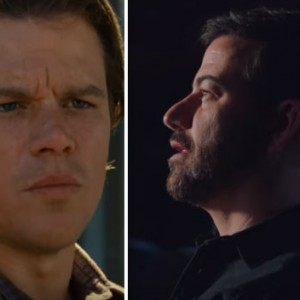 Jimmy Kimmel Just Paid A Tribute To Matt Damon At The Oscars. The Result Was Perfection