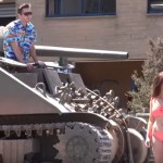 This Woman Rejected This Man When He Approached Her. Seconds Later… He Comes Back With A Tank!