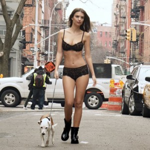 Emily Ratajkowski Walking A Dog In NYC Wearing Sexy Lingerie Will Leave You Breathless And Melt Your Heart