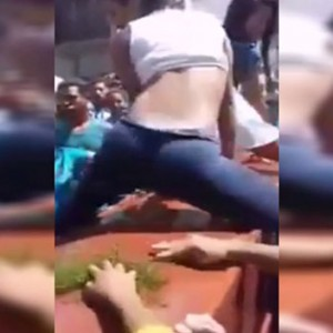 Watch The Unreal Moment When Two Women Twerked Over A Coffin At A Funeral (Yes, You Read Right)