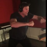 "Watch Hugh Jackman Get Into Epic Beast Mode During The Voice-Dubbing For ""Logan"""