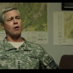 """Here's An Exclusive First Look At Brad Pitt And Tilda Swinton In The Netflix Comedy """"War Machine"""""""