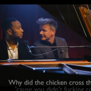 John Legend Sang A Special Medley Consisting Of Gordon Ramsay's Insults. The Result Was EPIC