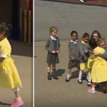 This Amputee Girl Wore Prosthetic Blade For First Time. Her Schoolmates Reactions Were Priceless