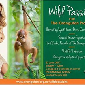 Featured Event Of The Day: Wild Passions for The Orangutan Project