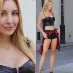 This Stunning Model Decided To Stare At Random People For No Reason. Their Reactions Were Priceless