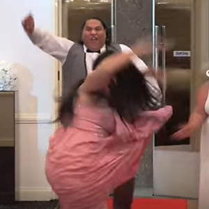 This Has Got To Be The Most EPIC Wedding Entrance Ever. Prepare To Be Blown Away!