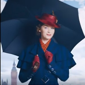 Here's An Awesome First Look At Emily Blunt As The Iconic Mary Poppins